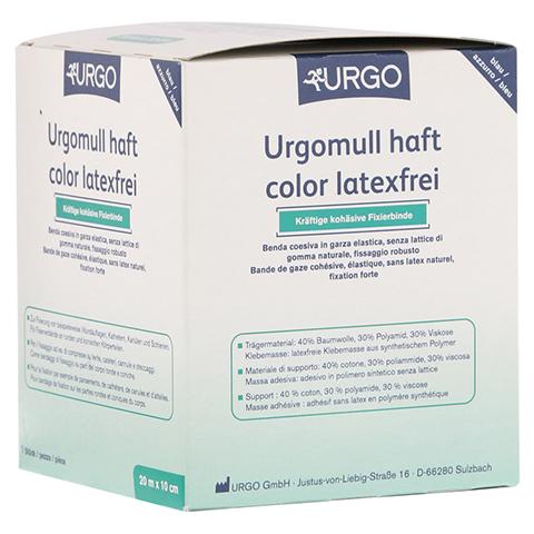 URGOMULL haft color latexfrei 10 cmx20 m blau 1 Stück