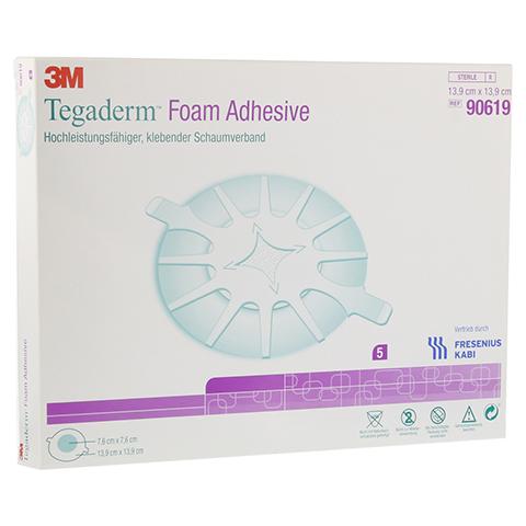 TEGADERM Foam Adhesive FK 13,9 cm rund 90619 5 Stück