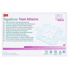 TEGADERM 3M Foam Adhesive 8,8x8,8 cm 90610 10 Stück - Vorderseite