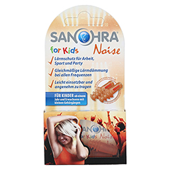 SANOHRA noise f.Kinder Ohrenschutz 2 Stück - Vorderseite