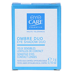 EYE CARE Duo Puderlidschatten mandel-vanille 050 2x1.5 Gramm - Vorderseite