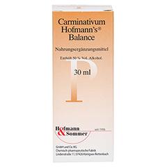 CARMINATIVUM Hofmann's Balance Flüssigkeit z.Einn. 30 Milliliter - Vorderseite