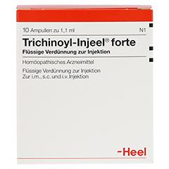 TRICHINOYL Injeel forte Ampullen 10 Stück N1 - Vorderseite
