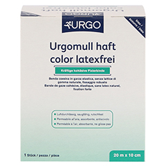 URGOMULL haft color latexfrei 10 cmx20 m blau 1 Stück - Vorderseite