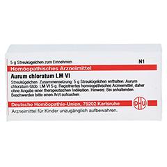LM AURUM chloratum VI Globuli 5 Gramm N1 - Vorderseite