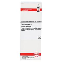 TARAXACUM D 1 Dilution 50 Milliliter N1 - Vorderseite