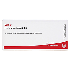 URETHRA feminina GL D 6 Ampullen 10x1 Milliliter N1 - Vorderseite