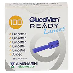 GLUCOMEN READY Lancets 100 Stück - Vorderseite