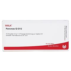 PANCREAS GL D 12 Ampullen 10x1 Milliliter N1 - Vorderseite