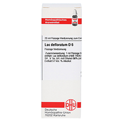 LAC DEFLORATUM D 6 Dilution 20 Milliliter N1 - Vorderseite