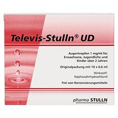 Televis-Stulln UD Augentropfen 10x0.6 Milliliter - Vorderseite