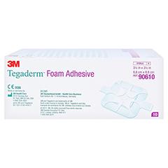 TEGADERM 3M Foam Adhesive 8,8x8,8 cm 90610 10 Stück - Linke Seite