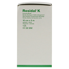 ROSIDAL K Binde 10 cmx5 m CPC 1 Stück - Linke Seite