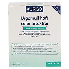 URGOMULL haft color latexfrei 10 cmx20 m blau 1 Stück - Linke Seite