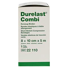 DURELAST Binde Combi 8 cmx5 m+10 cmx5 m 2 Stück - Linke Seite