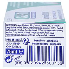 GUM Original White Zahnpasta 75 Milliliter - Linke Seite
