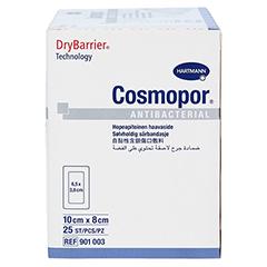COSMOPOR Antibacterial 8x10 cm 25 Stück - Linke Seite