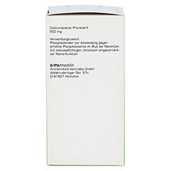 CALCIUMACETAT PRORENAL 500 mg Filmtabletten 200 Stück N3 - Linke Seite