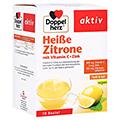DOPPELHERZ heiße Zitrone Vitamin C+Zink Granulat 10 Stück