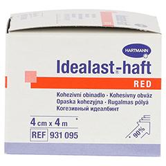 IDEALAST-haft color Binde 4 cmx4 m rot 1 Stück - Rechte Seite