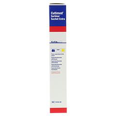 SORBION Cutimed Sachet Extra Wundaufl.10x10 cm 5 Stück - Rechte Seite