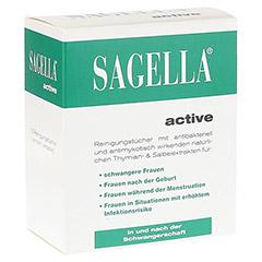 SAGELLA active Reinigungstücher 10 Stück