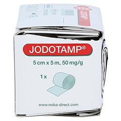JODOTAMP 50 mg/g 5 cmx5 m Tamponaden 1 Stück - Rechte Seite