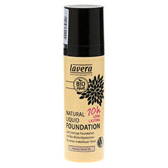 LAVERA Natural Liquid Foundation 03 honey sand 30 Milliliter