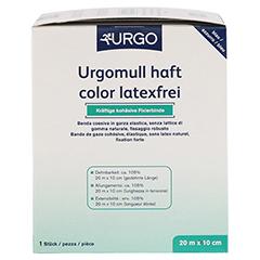 URGOMULL haft color latexfrei 10 cmx20 m blau 1 Stück - Rechte Seite