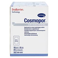 COSMOPOR Antibacterial 8x10 cm 25 Stück - Rechte Seite