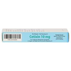 Cetixin 10mg 10 Stück - Rechte Seite
