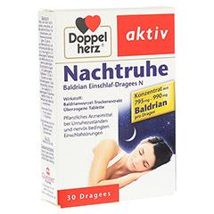 Doppelherz Nachtruhe Baldrian Einschlaf-Dragees N 30 Stück