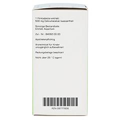 CALCIUMACETAT PRORENAL 500 mg Filmtabletten 200 Stück N3 - Rechte Seite