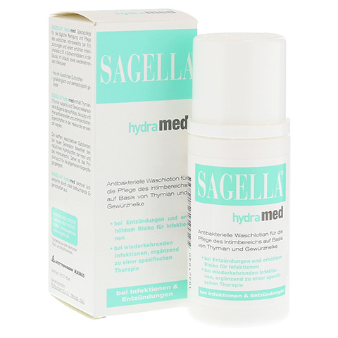 SAGELLA hydramed Intimwaschlotion 100 Milliliter