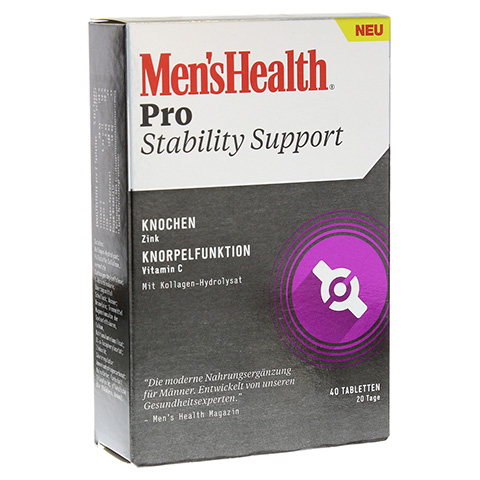 MEN'S HEALTH Pro Stability Support Tabletten 40 Stück