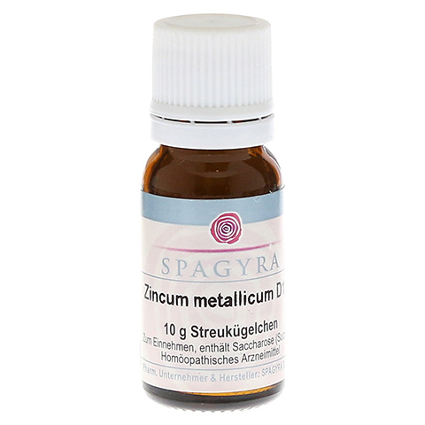 ZINCUM METALLICUM D 12 Globuli 10 Gramm N1