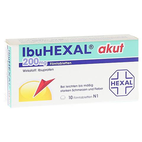 IbuHEXAL akut 200mg 10 Stück N1