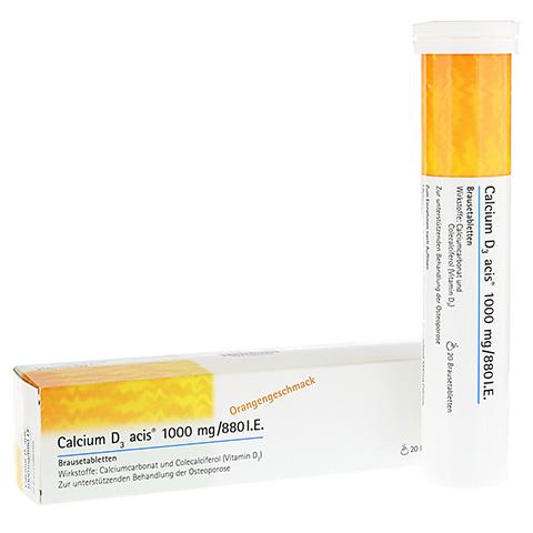 Calcium D3 acis 1000mg/880I.E. 20 Stück N1