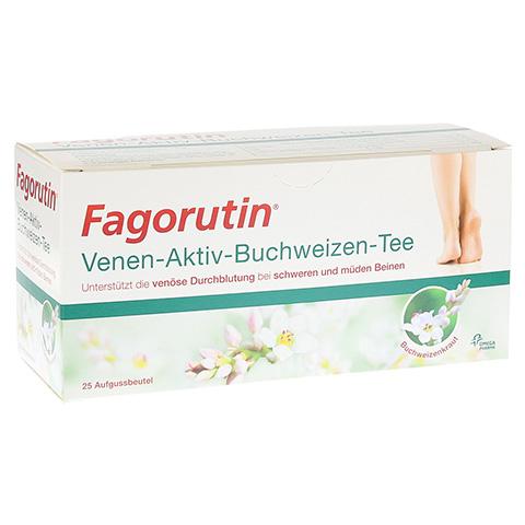 FAGORUTIN Venen-Aktiv-Buchweizen-Tee Filterbeutel 25 Stück