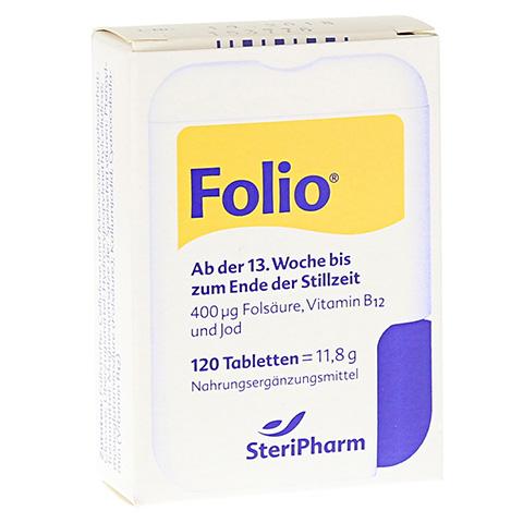 Folio+B12 Tabletten 120 Stück