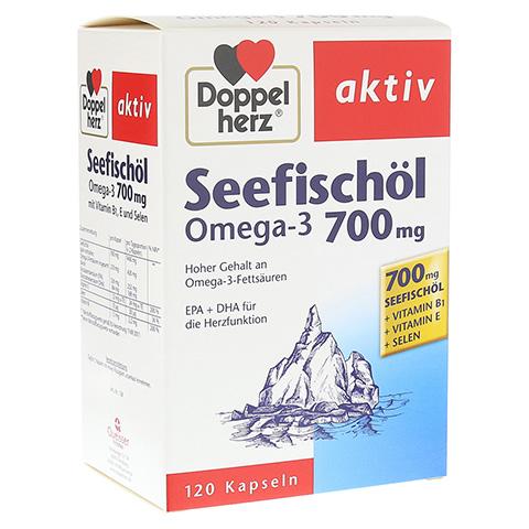 DOPPELHERZ Seefischöl Omega-3 700 mg Kapseln 120 Stück