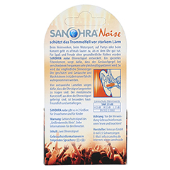 SANOHRA noise f.Kinder Ohrenschutz 2 Stück - Rückseite