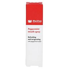 MEDITAO Pfefferminz Mundwasser Spray 10 Milliliter - Rückseite