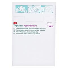 TEGADERM 3M Foam Adhesive 8,8x8,8 cm 90610 10 Stück - Rückseite