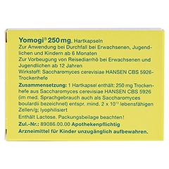 Yomogi 250mg 5Billionen Zellen 10 Stück N1 - Rückseite