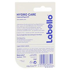 LABELLO Hydro care Blister 4.8 Gramm - Rückseite