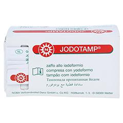 JODOTAMP 50 mg/g 5 cmx5 m Tamponaden 1 Stück - Rückseite