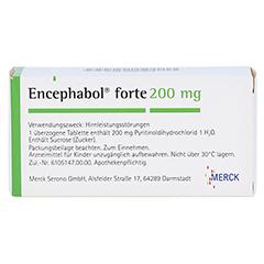Encephabol forte 200mg 50 Stück N2 - Rückseite