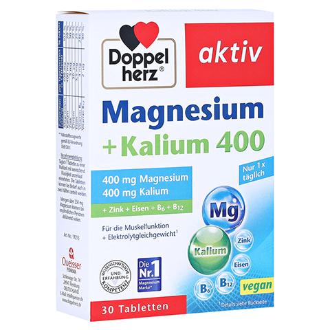 DOPPELHERZ Magnesium+Kalium Tabletten 30 Stück