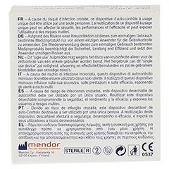 GLUCOMEN READY Lancets 100 Stück - Rückseite